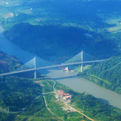 Alternate Bridge over the Panama Canal